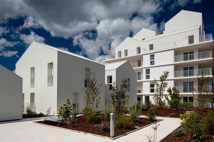 96 logements collectifs écoquartier Ginko   Marjan Hessamfar & Joe Vérons architectes associés