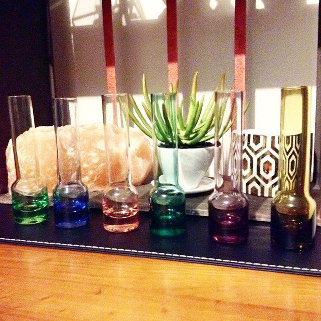 I picked up these awesome vintage glass vases from a market yesterday and I love them so much. #hippyheartsbazaar #homewares #vintage #decor #glassvases #aroundmyhome