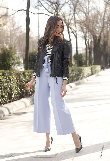 Get this look: http://lb.nu/look/8616481 More looks by Besugarandspice FV: http://lb.nu/besugarandspice Items in this look: Uterqüe Pants, Zara Jacket #chic #classic #street