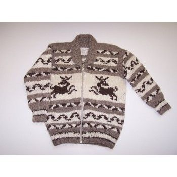 Canadian Cowichan sweater