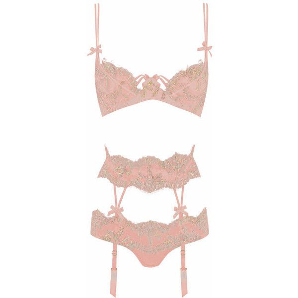 Agent Provocateur Darianna Bra Pink ($130) ❤ liked on Polyvore featuring intimates, bras, lingerie, underwear, pink, agent provocateur lingerie, agent provocateur bra, agent provocateur, pink bras and pink lingerie