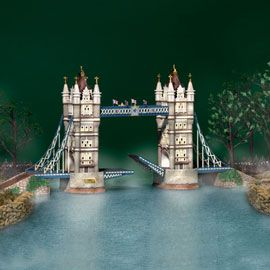 Towers, Bridges and Department 56 on Pinterest