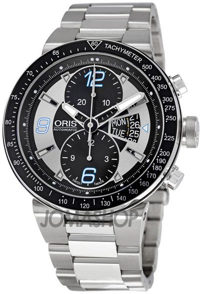 Oris Williams F1 Team Chronograph Mens Automatic Watch 679-7614-4174MB