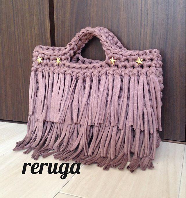 трикотажная пряжа сумочка
