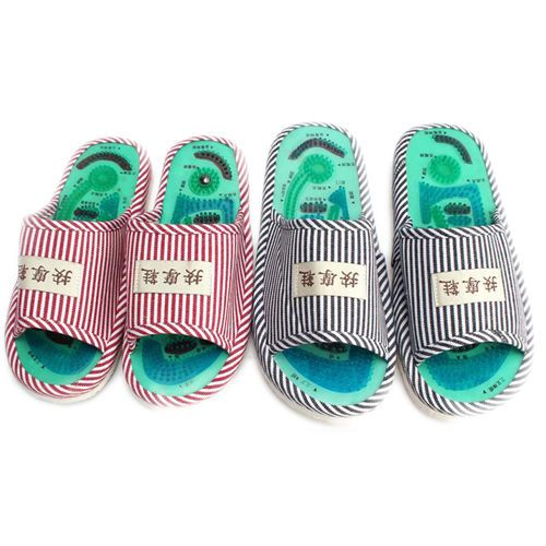 New Acupuncture Massage Slipper Shoes Reflexology Health Body Care Sandal Foot