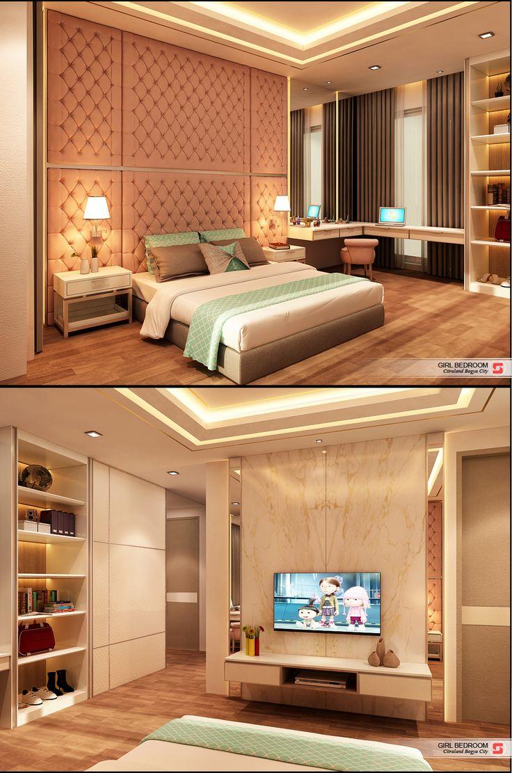 Girl Bedroom J House Residential Medan, Sumatera Utara Indonesia