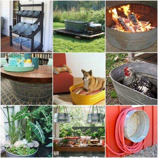 15 Creative Galvanized Tub Uses For The Home And G…