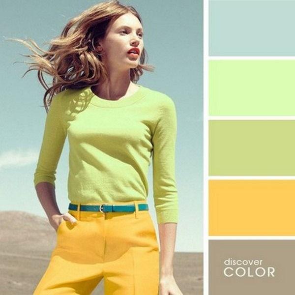 Продолжаем нашу любимую тему о сочетании цветов в одежде. Первую часть можете посмотреть зд…