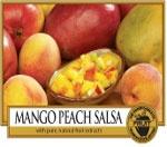Mango Peach Salsa  Dolce ed eccitante.....pesche e frutti di mango succosi e ravvivati con agrumi, fiori di zenzero e pepe rosa.