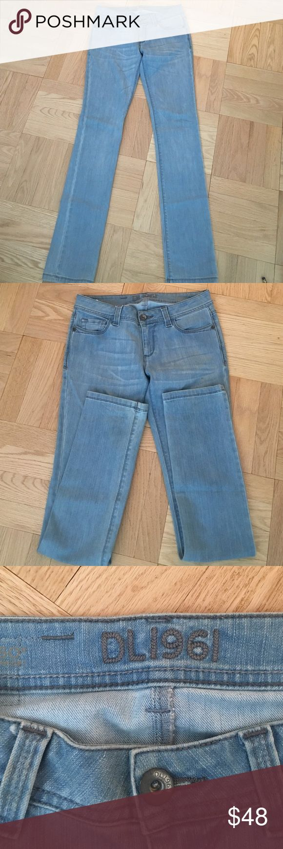 DL1961 light washed jeans Light wash jeans in amazing condition DL1961 Jeans Straight Leg