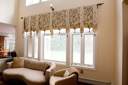 Valances For Windows Window Treatments Somerset County