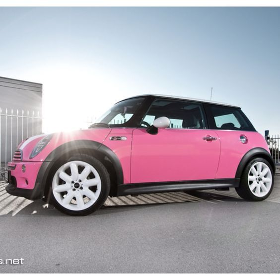 This is what I imagine Mimi's Mini Cooper looks like in the book.