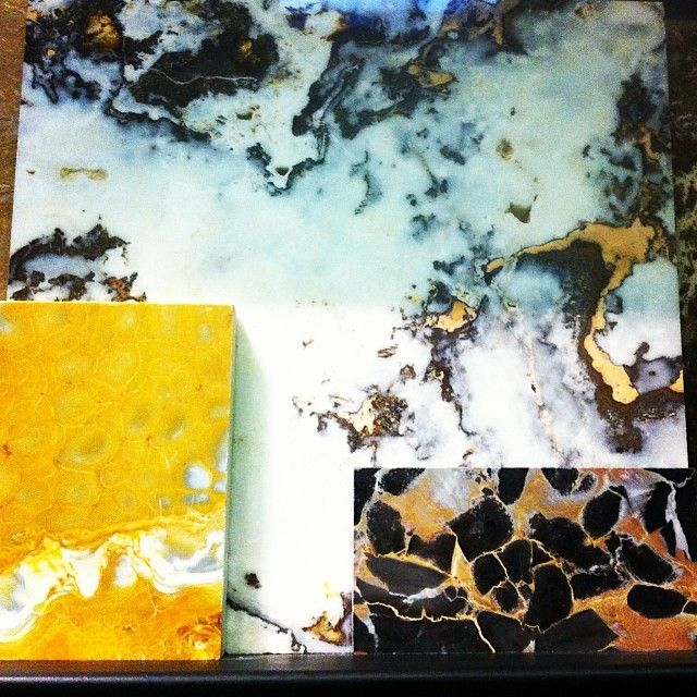 Stones, Marble, Maison&Objet http://instagram.com/milhdiy