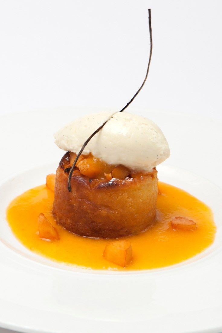This summery peach clafoutis recipe from Pierre Koffmann is steeped in classic French elegance, perfect for a summer dinner party