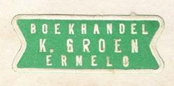 Boekhandel K. Groen, Ermelo
