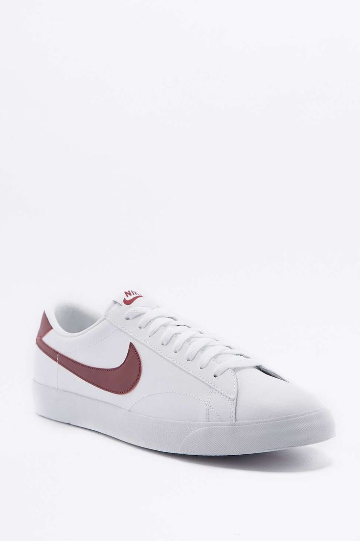 Nike Tennis Classic AC ND White and Red Trainers