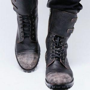 Guylook - military vintage biker boots