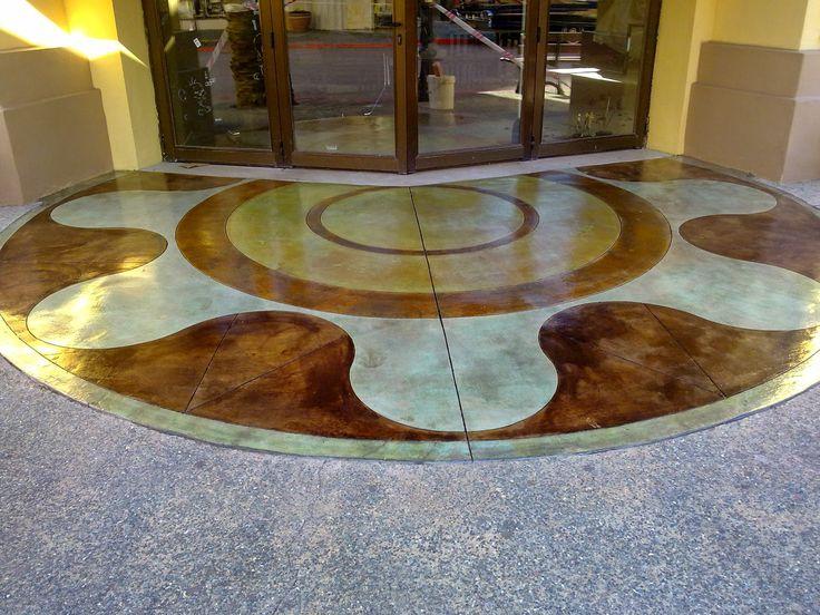 Pavimentos continuos: Pavimentos decorativos