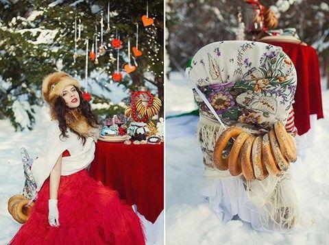 Russian Winter Wedding Inspiration www.MadamPaloozaEmporium.com www.facebook.com/MadamPalooza