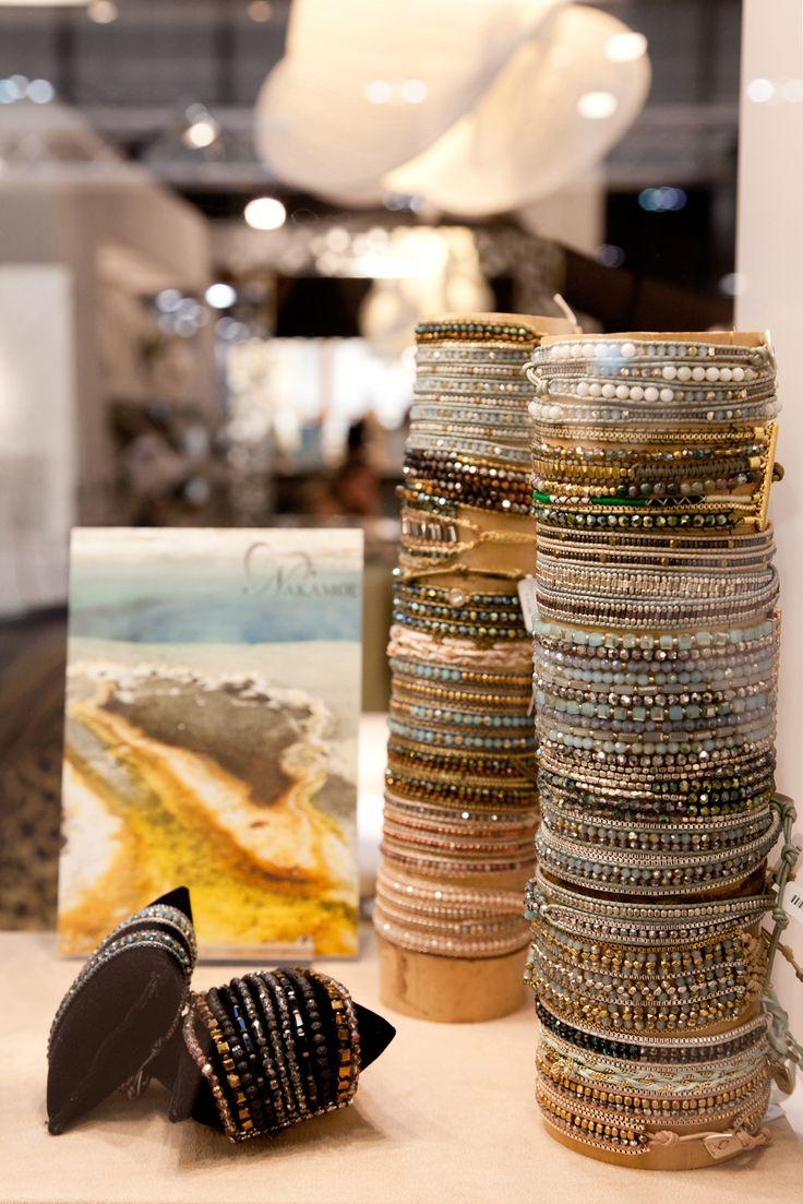 Nakamol bracelets   www.aibijoux.com  #Nakamol #fashionjewelry #HOMI15 #HomiMilano #AIBIJOUX