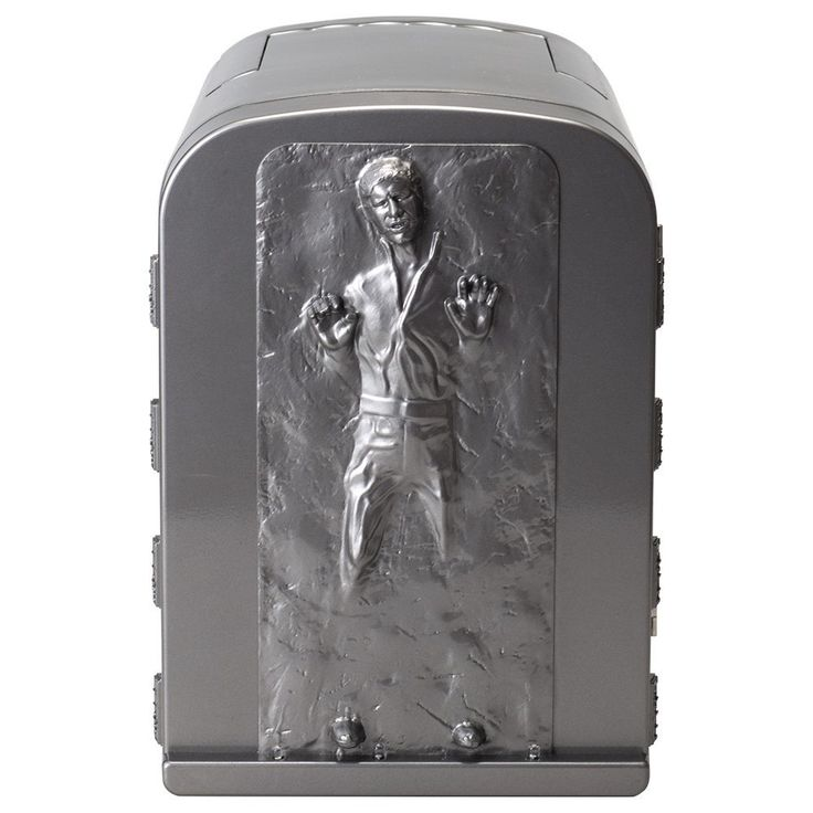 NEW Star Wars Han Solo in Carbonite 3D 4 Liter Thermoelectric Mini Fridge Cooler 4L *** This is an Amazon Affiliate link. Details can be found by clicking on the image.