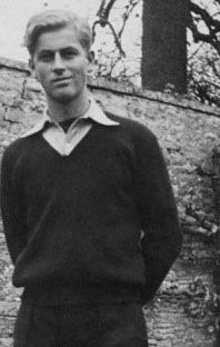 super young Prince Philip