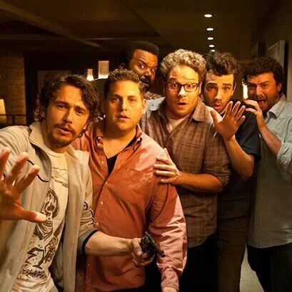 This Is The End...  Love this movie. Love everyone in this movie...can I just be best friends with all 6 of them please?