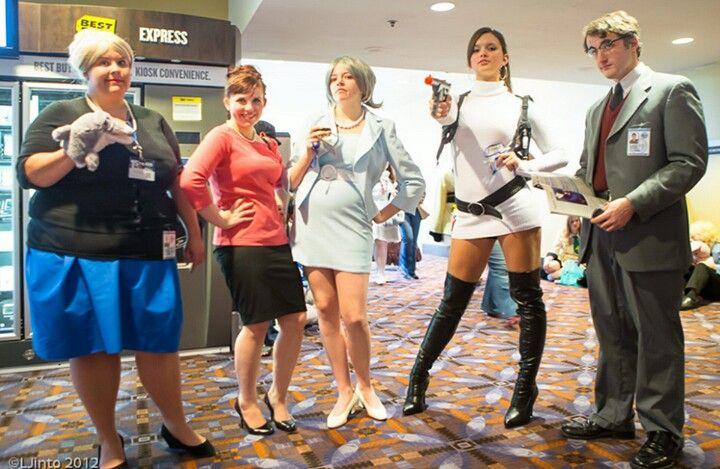 Archer cosplay - Pam, Cheryl, Mallory, Lana, Cyril ...