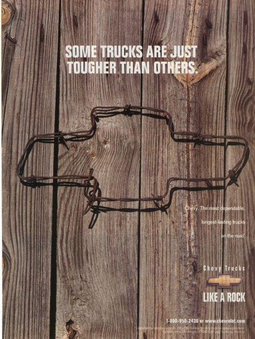 Campaña para camionetas #Chevrolet