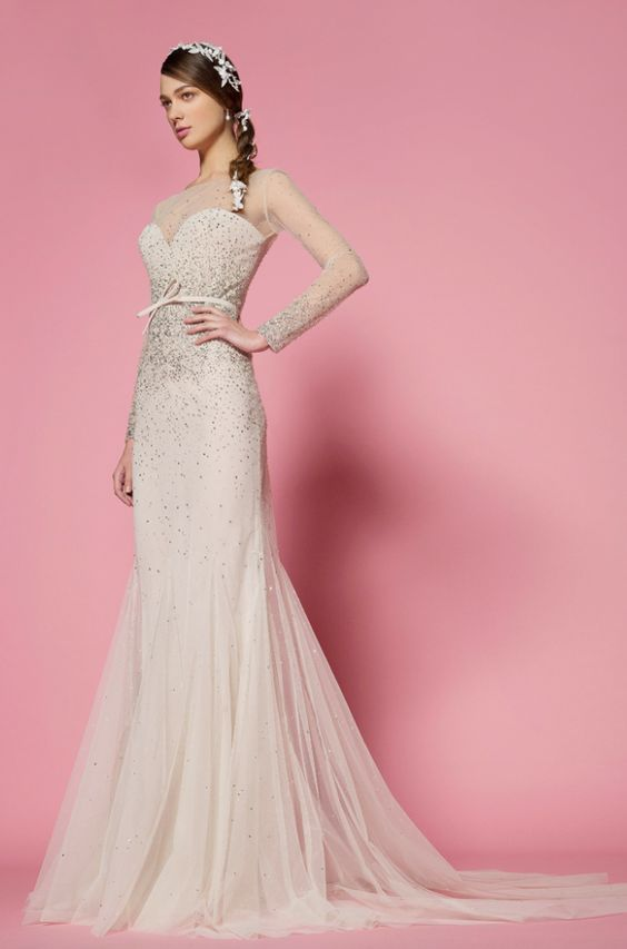 Featured Dress: Georges Hobeika; Wedding dress idea.