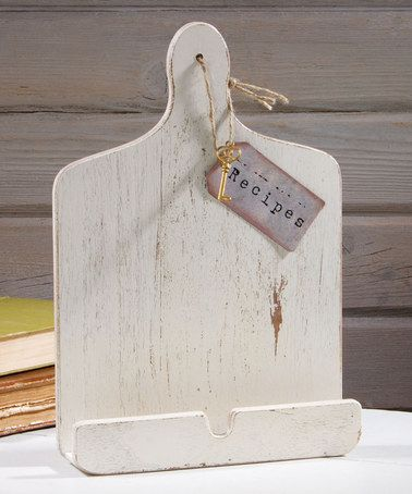 Another great find on #zulily! Vintage-Inspired Tablet Recipe Holder #zulilyfinds