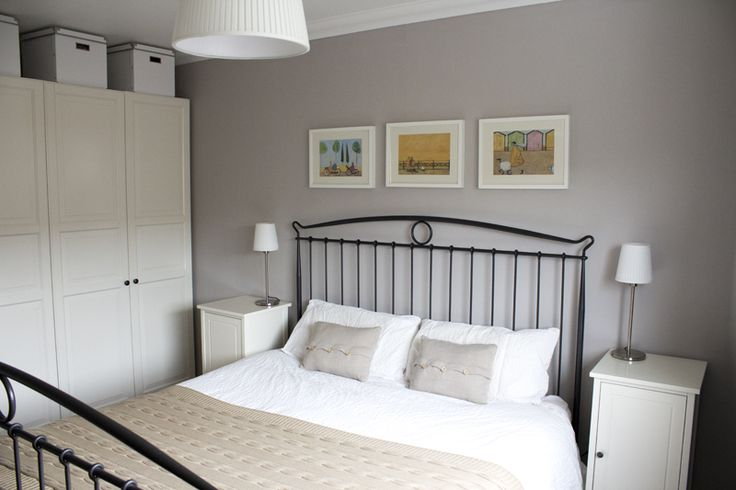 Bedroom Wall Colour Dulux : Dulux grey steel google search bedrooms