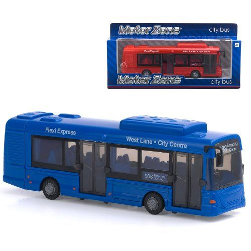 From 5.99 Motor Zone City Bus(color May Vary)