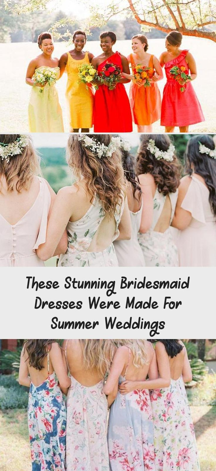 The Most Stunning Summer Bridesmaid Dresses Of 2018 #BridesmaidDressesLace #LavenderBridesmaidDresses #CheapBridesmaidDresses #BridesmaidDressesCoral #BridesmaidDressesBeach