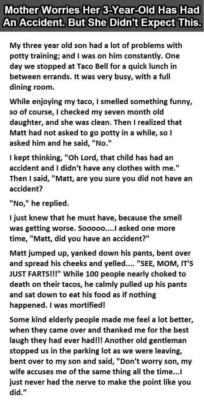 Embarrassing accident essay