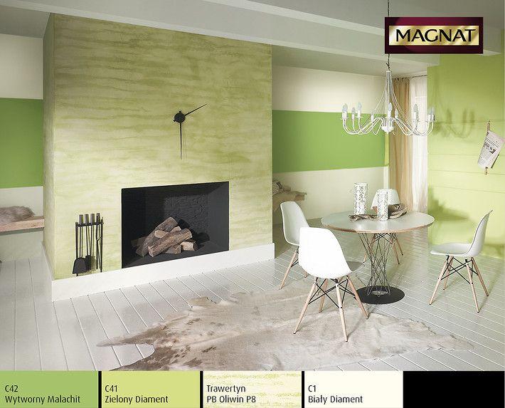 Trawertyn MAGNAT Style w kolorze zielonym.