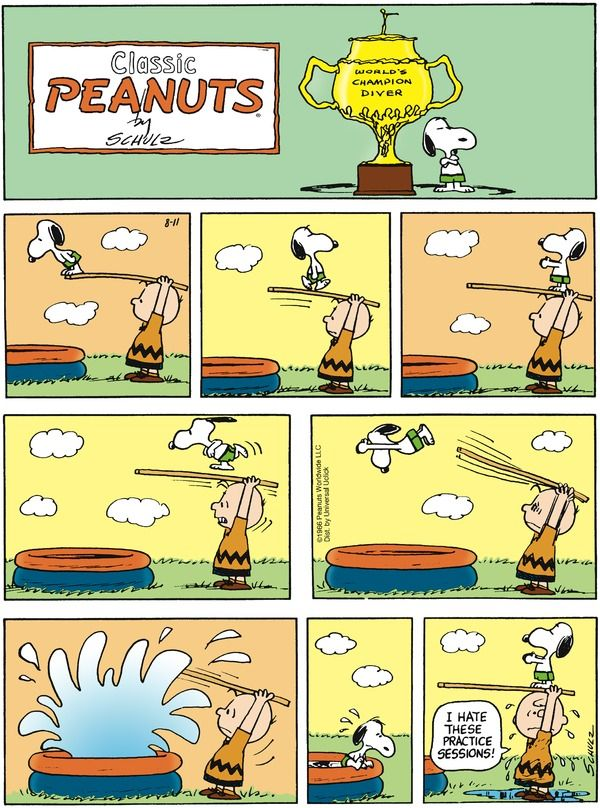 Snoopy - World's Champion Diver!