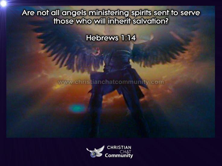 Hebrews 1:14 - Christian Chat Community