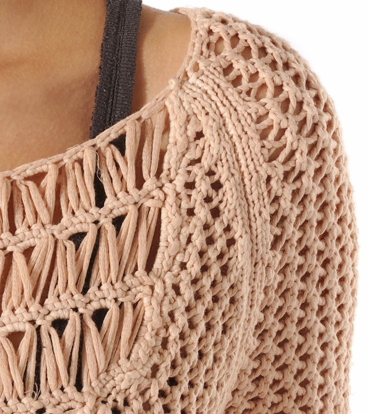 Knitting Stitches For Sweaters : 34 best images about Crochet - Broomstick Lace on Pinterest