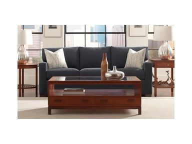 The Elegant Stickley Living Room Lake Way Sectional Is Available From Paul Schatz  Furniture.