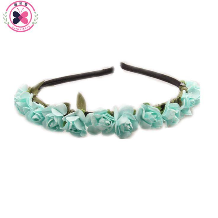 $1.09 (Buy here: https://alitems.com/g/1e8d114494ebda23ff8b16525dc3e8/?i=5&ulp=https%3A%2F%2Fwww.aliexpress.com%2Fitem%2FFree-Shipping-Rose-Flower-Crown-Festival-Headband-Headwear-Wedding-Garland-Floral-Hairband-Accessories%2F32343521634.html ) haimeikang Girls hairband Hair Hoop Paper Rose Flower Crown Festival Hair bands Headwear Wedding Garland Floral Hair Accessories for just $1.09