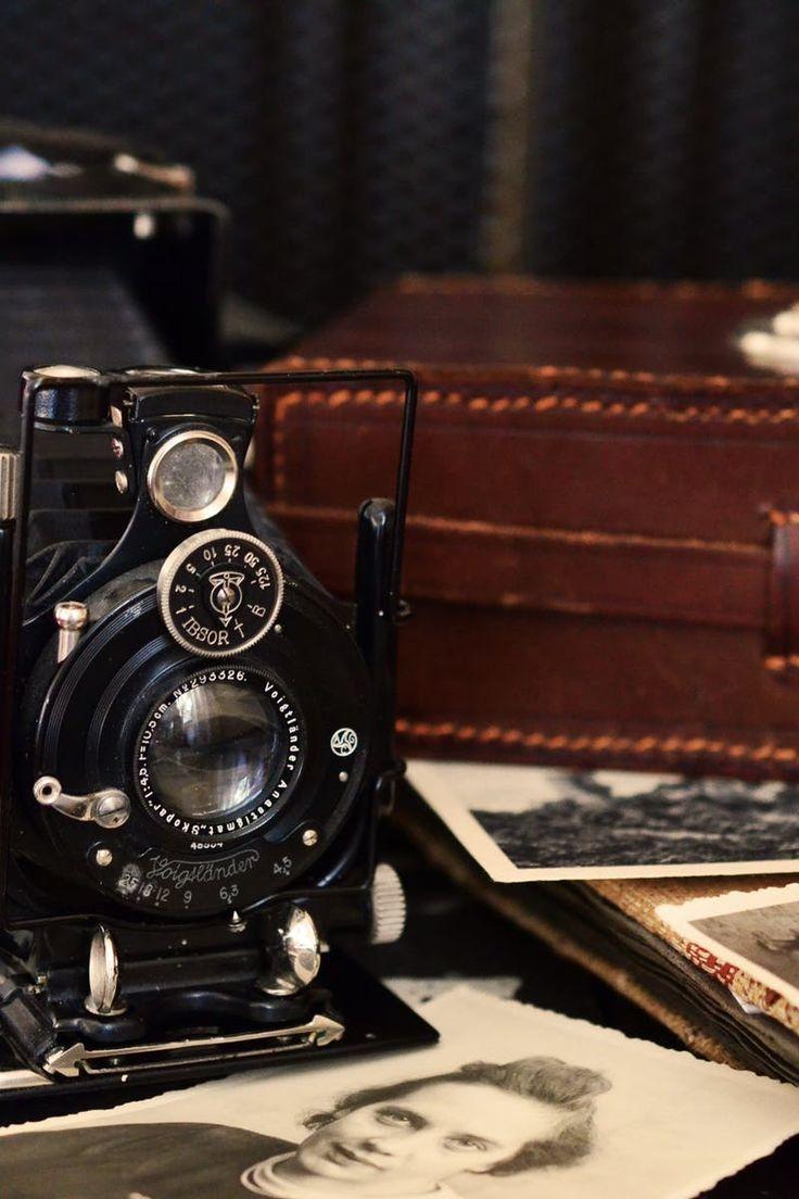 camera, old, photographs