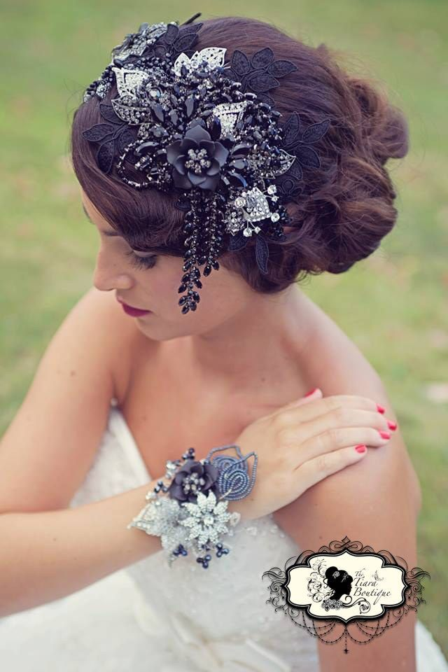 1920 vintage hair pieces 1920 s inspired hair piece and beaded and vintage style dresses hats pinterest vintage hair pieces vintage style