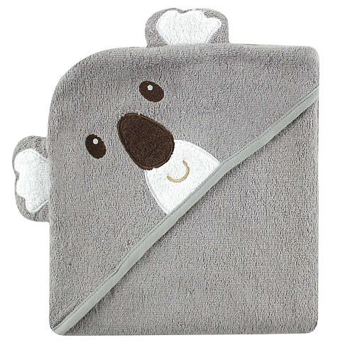 """Luvable Friends Animal Face Hooded Terry Towel - Koala - Baby Vision - Babies """"R"""" Us"""