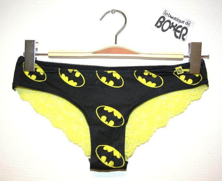 #freegun #dccomics #noir #jaune #dentelle #boxerfemme #nouveaute #nouvellecollection #sexy #heros #batman #laboutiqueduboxer #oseztouslesstyles #shorty #microfibre #shortyfemme #lingerie #sousvetements #tendance #mode #fashion