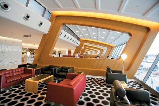 10 lounge-uri chic din aeroporturile lumii