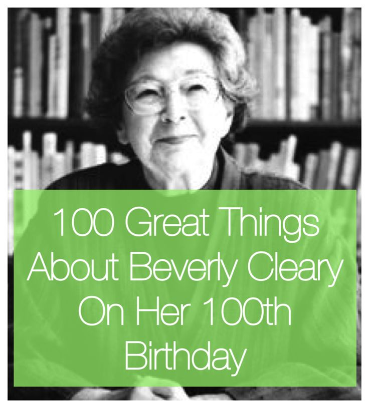 73 best author and book adoration images on pinterest authors 100 awesome things about beverly cleary on her 100th birthday fandeluxe Images
