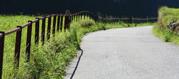 Swiss walking path