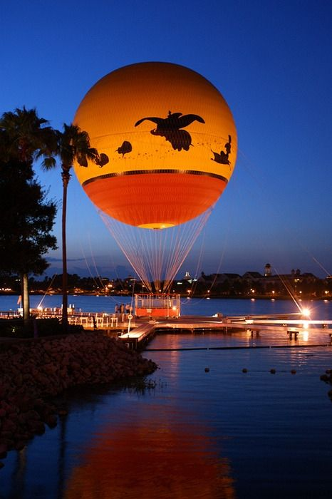 Downtown Disney! My kids love this!