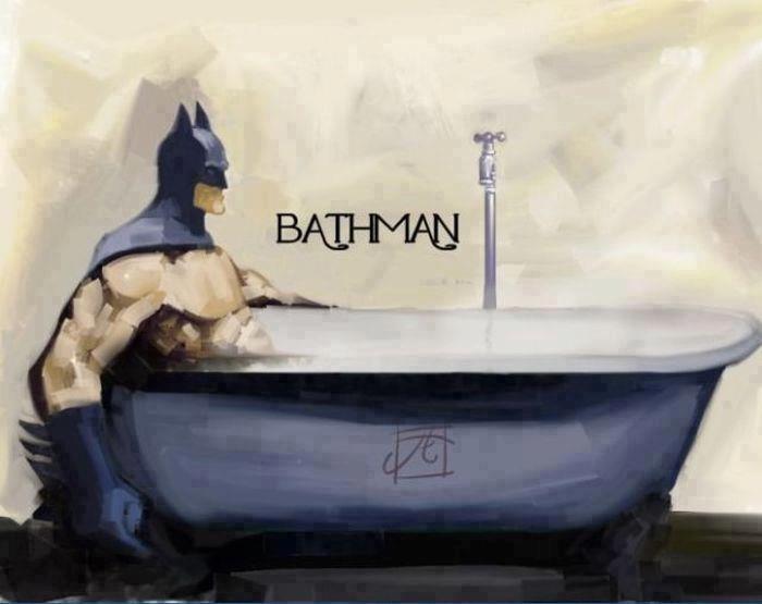 Bat(h)man.